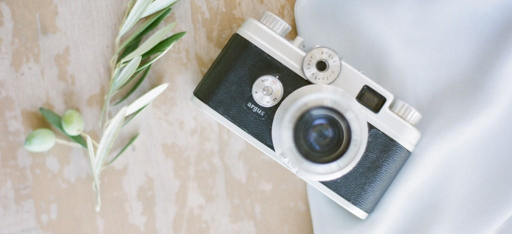 ibiza wedding favours camera